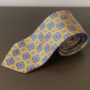 🔥Jos. A. Bank🔥 Gold and Blue Tie